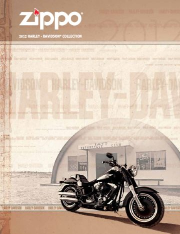 Harley-Davidson Collection 2012